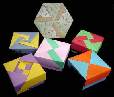 cần 1 nguời biết gấp hộp origami gấp